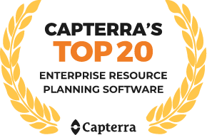 Capterra - Top 20 ERP Software