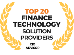 CIA Advisor - TOp 20 Finance Technology Solution Providers