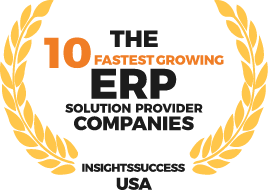 Insightssuccess USA - 10 Fastest Growing ERP Provider